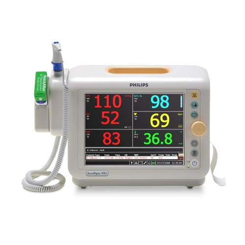 Philips Suresigns Vs3 Vital Signs Monitor Medical