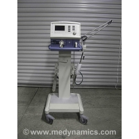 Drager Savina Ventilator and Roll Stand